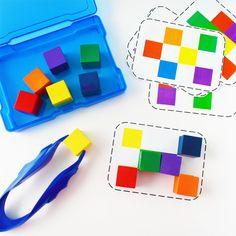 Kindergarten Sensory, Preschool Literacy, Preschool Lesson Plans, Visual Perception Activities, Visual Learning, Learning Time, Pre K Activities, Color Activities, Sequencing Activities