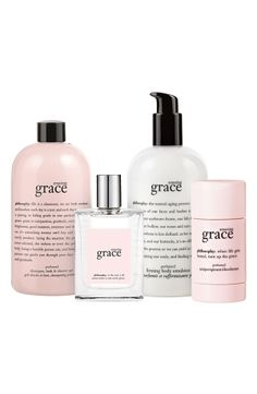 philosophy 'amazing grace' luxurious fragrance layering set, I used this on my daughter as a baby and she still uses it today