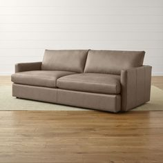 "Lounge II Leather 93"" Sofa 