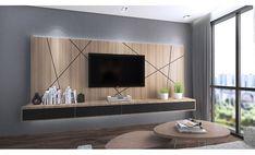 15 TV Cabinet Designs That Will Make Your Living Room Ultra Stylish 15 TV-Möbel-Designs, die Ihr Wohnzimmer besonders stilvoll machen Bedroom Tv Cabinet, Bedroom Tv Wall, Master Bedroom, Tv Console Design, Tv Wall Design, Tv Console Modern, Tv Cabinet Design Modern, Tv Cabinet Wall Design, Tv Console Decorating