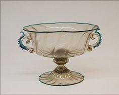 Bowl  --  17th Century  --  Murano  --  Metropolitan Museum of Art