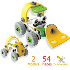 Truck TakeAPart Build Toy with Tools for Kids by Elf Star * Details can be found by clicking on the image.