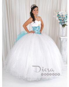 Quinceanera Dress From Vizcaya By Mori Lee Dress Style 89017 Tulle ...