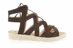Lince Shoes SS16 #sandalia #romana #serraje #marrón