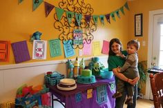monsters inc birthday {my chocolate moments} #decor #monsterinc #party