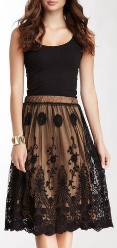Black Lace Dress ♡