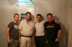 Alex und die Mongolei-Abenteurer. Mehr unter http://www.absolutradio.de/blogs/ambulance-to-mongolia/ und bei http://mongolia.to