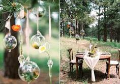 Image result for woodland wedding reception ideas