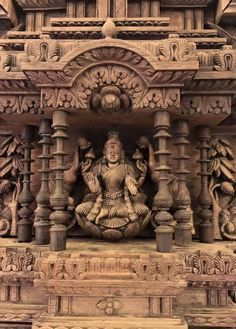 Indian Temple Architecture, Ancient Architecture, Ancient Indian Art, Ancient Art, Sculpture Clay, Sculptures, Door Design Images, Saraswati Goddess, Lord Ganesha Paintings