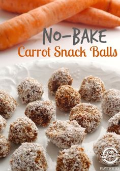 carrot snack balls no bake - used raisins and raw honey with cashews. Turned out great. Down over process, having bits of the nuts makes for a nice texture. Spiced it up,with cinnamon and clove.
