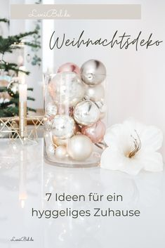 Pink Christmas, Place Cards, Place Card Holders, Table Decorations, Hygge, German, Boho, Winter, Interior