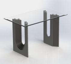 Таблица 001 - SOLIDWORKS, SolidWorks - 3D модель - GrabCAD