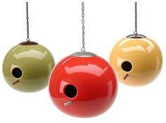 ceramic orb birdhouse | refresh design: the blog