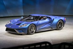Este es el Ford GT 2015