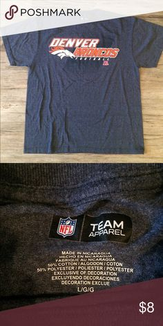 7db91ecaf3a Shop Men's NFL Blue size L Tees - Short Sleeve at a discounted price at  Poshmark. Description: NWOT NFL Team Apparel Denver Broncos T-shirt.