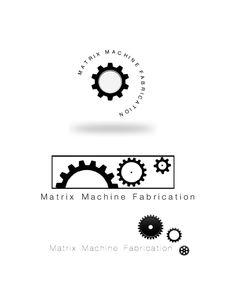 Logo Design For Matrix Machine Fabrication and Dreeply