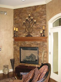 Your fireplace is begging to be a focal point! - The Magic Brush Inc