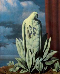 René Magritte - The Taste of Tears, 1946 🦄🐜🐜🦄🦄Rene Magritte  ( 1898 - 1967 ) More At FOSTERGINGER @ Pinterest🦀🦀🐛🕷🐝🐤🐍