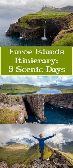 Find out how to spend 5 scenic and serene days in the stunning Faroe Islands with this 5 day Faroe Islands itinerary!