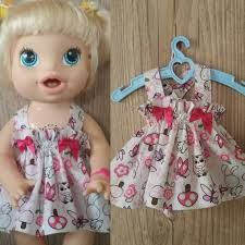 Baby a Live Baby Alive Doll Clothes, Bitty Baby Clothes, Baby Alive Dolls, Baby Dolls, American Girl Crafts, American Girl Clothes, Baby Doll Diaper Bag, Kawaii Girl Drawings, Baby Live