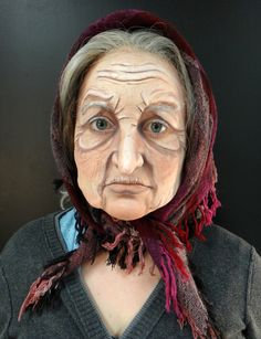 Old age makeup Apple Wife……Old age makeup Maquillaje Halloween, Halloween Makeup, Old Lady Makeup, Old Lady Costume, Witch Makeup, Character Makeup, Fete Halloween, Theatrical Makeup, Theatre Makeup