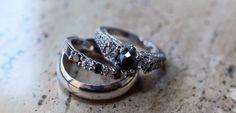 The Wedding rings shot. Custom black and white diamond Vera Wang Love engagement ring. Wedding Ring Pictures, Wedding Rings, Ring Shots, Vera Wang, Silver Rings, Engagement Rings, Black And White, Diamond, Jewelry