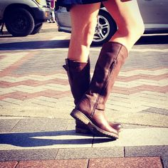 Pinterest: @icristy13| Love these boots!