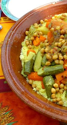 Couscous - One of the most famous dishes of Algeria