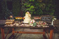 vibrant urban wedding in Los Angeles with photos by Jeff Newsom | via junebugweddings.com (5)