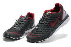 newest f2ab1 c832e Nike Free TR Fit Breathe Dark Grey Crimson