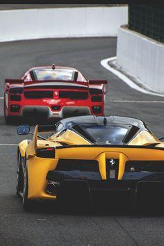 Ferrari FXXK and Ferrari FXX | vividessentials