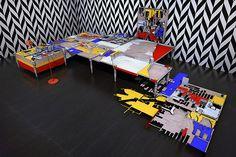installation follies by vigilism examine architectural tropes