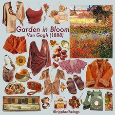 Garden in bloom niche style meme Aesthetic Fashion, Aesthetic Clothes, Aesthetic Outfit, Style Board, Cool Outfits, Fashion Outfits, Artsy Outfits, Mens Fashion, Fashion Sketches