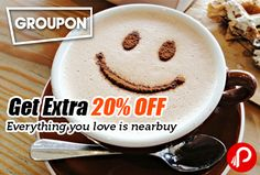 Groupon Nearbuy Celebrating Jaipur Cafe Festival and discount Extra 20$ off on Jaipur's all Cafe. Coupon Code – nearbuy20  http://www.paisebachaoindia.com/get-extra-20-off-on-jaipur-cafe-festival-groupon/