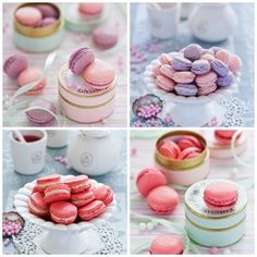 Macarons by The Little Squirrel by toriejayne, via Flickr