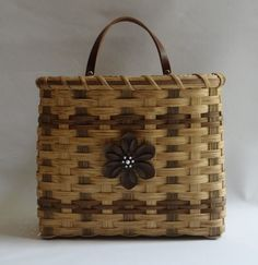 Mail Basket / Wall Basket by JGBaskets on Etsy, $36.00
