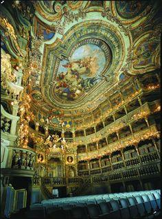 Markgräfliches Opernhaus, Bayreuth (Deutschland)