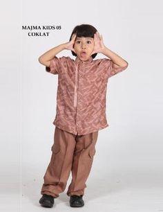 Baju Koko Anak MAJMA KIDS 05 COKLAT