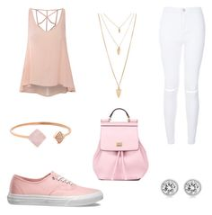 """""""Pastel"""" by brittany1099 ❤ liked on Polyvore featuring Glamorous, Vans, Forever 21, Michael Kors, Dolce&Gabbana, women's clothing, women, female, woman and misses"""