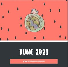 @givebackgoods posted to Instagram: Happy June! . . Shop sustainable at GiveBackGoods.com (link in bio, shipping is always included). . . #GiveBackGoods #GiveBack #gogreen #ecofriendly #zerowaste #sustainability #sustainable #eco #nature #environment #green #gogreen #savetheplanet #fairtrade #handmade #organic #climatechange #fightclimatechange #earth #bethechange #recycle #reuse #reducewaste Happy June, International Holidays, Reduce Waste, Giving Back, Save The Planet, Go Green, Climate Change, Reuse, Sustainability