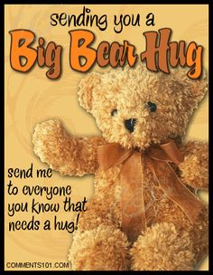 Hugs to all of you!!