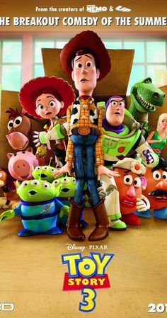 a movie analysis of toy story by disney and pixar Bloop animation menu blog their third film tin toy, telling the story of toys according to the deal they made with disney, pixar didn't have the rights to.