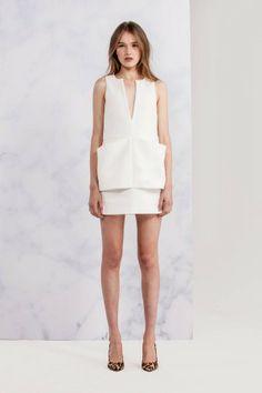 WHITE SKY DRESS white