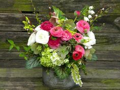 Wedding Flowers from Springwell: Spring Wedding Flowers- Pink ...