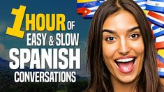 Learn SPANISH: A 1-HOUR Beginner Conversation Course (for daily life) - OUINO.com - YouTube Spanish Words, Spanish Class, Spanish Lessons, Learn To Speak Spanish, Learn Spanish Online, Learning Courses, Learning Resources, World Language Classroom, Spanish Conversation