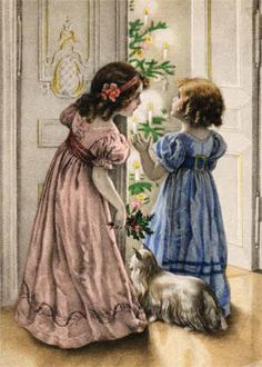 Regency dresses for little girls