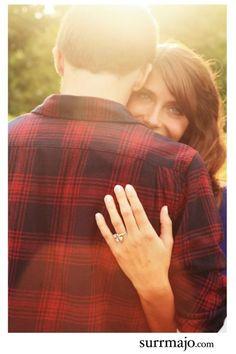 Love this engagement shot!