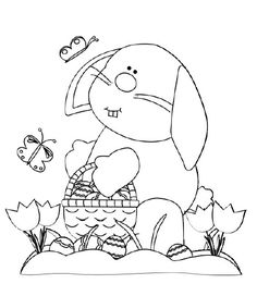 Trend Free Easter Bunny Coloring Pages 90 easter bunny coloring pages