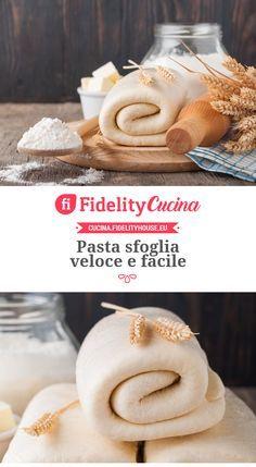 Pasta sfoglia veloce e facile Pasta Casera, Croissant Recipe, Best Banana Bread, Romanian Food, Strudel, Italian Dishes, Antipasto, Food And Drink, Yummy Food