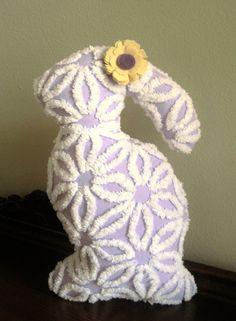 *have* *give this year* Plush Purple Hofmann Daisy Vintage Chenille